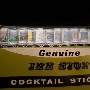 1960's Cocktail Sticks - Inn Signs - Mad Men